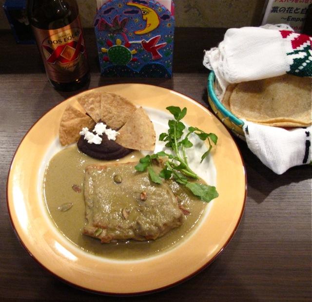 abrazo mole pipian © Tokyo Food File