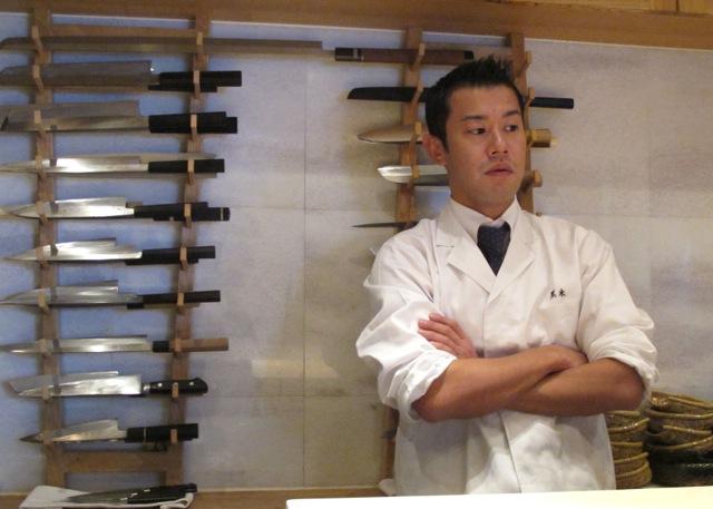 chef kurogi © Tokyo Food File