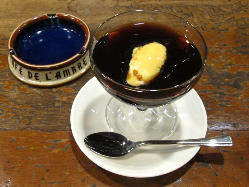 l'ambre coffee jelly © Tokyo Food File