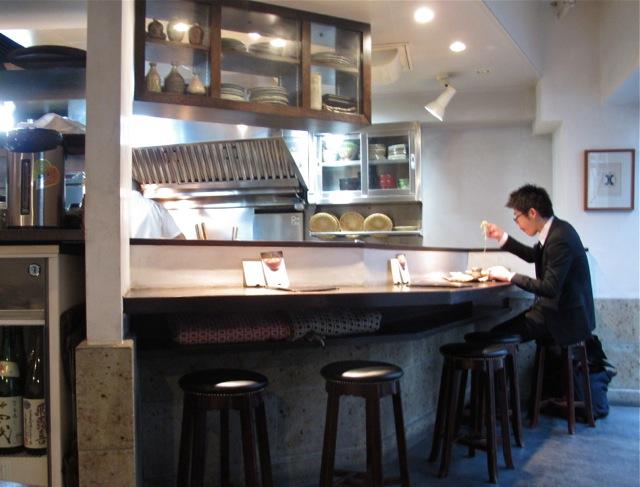 narutomi counter © Tokyo Food File