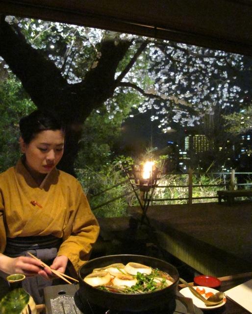 Sakura sukiyaki2 © Tokyo Food File