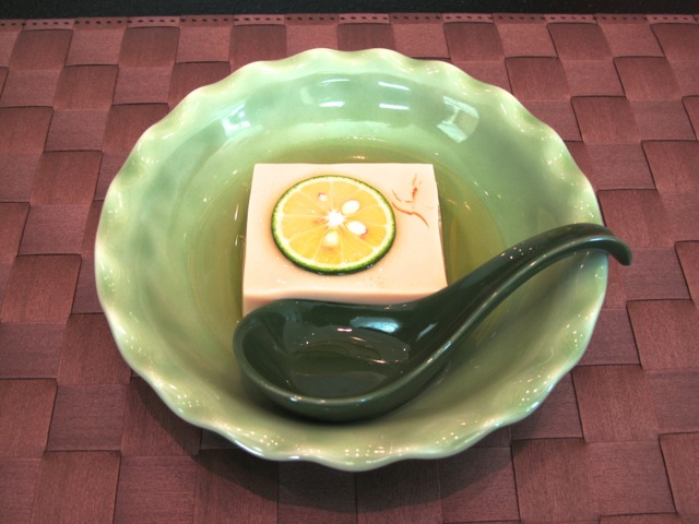 Basara tamago-dofu © Tokyo Food File