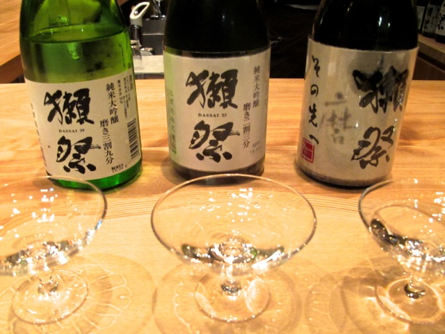 Dassai bar trial © Tokyo Food File