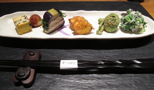 Katsuzen zensai © Tokyo Food File