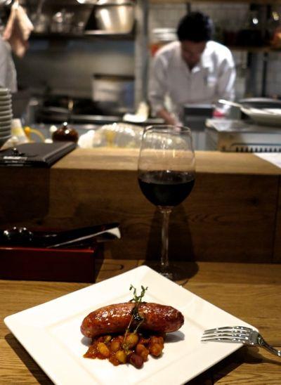 kitchen nakamura sausage © Tokyo Food File