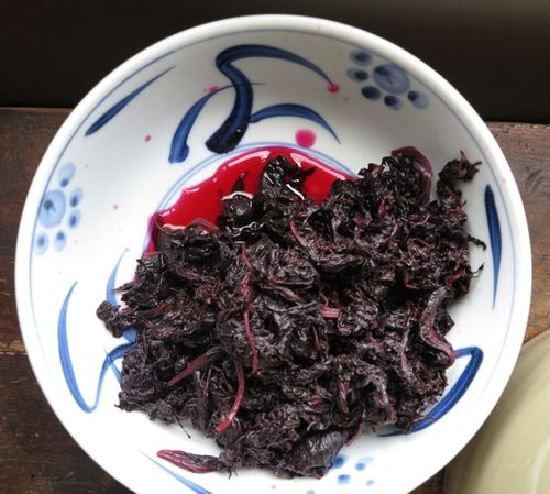 umeboshi day1 shiso © Tokyo Food File