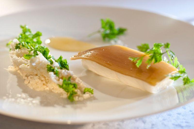 Turbot, citron cedrat © Mandarin Oriental