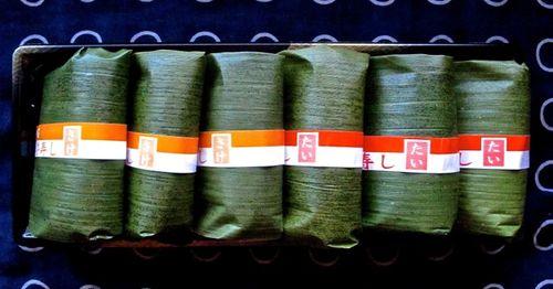 Tanabata sasazushi box © Tokyo Food File