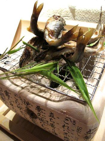 ayu shioyaki 2 © Tokyo Food File