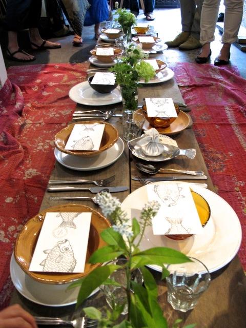 Kinfolk table © Tokyo Food File
