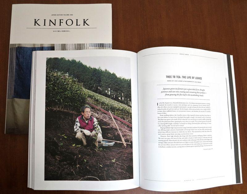 Kinfolk mag inside © Tokyo Food FIle