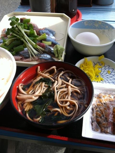 sanma sashimi teishoku © Tokyo Food File