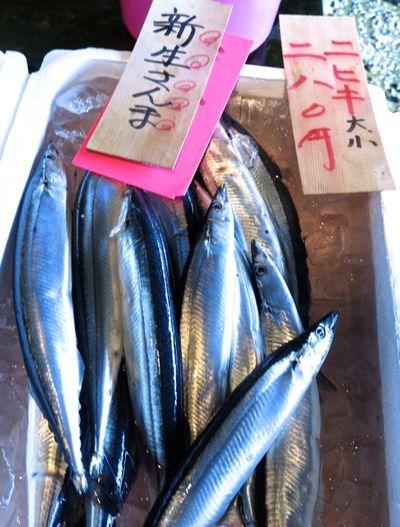 market sanma 2 © Tokyo Food File
