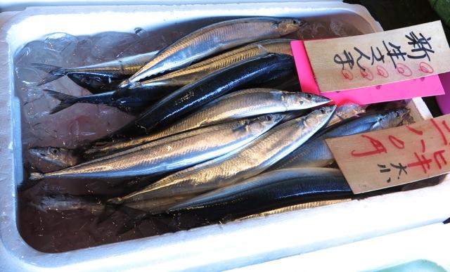 market sanma 1 © Tokyo Food File