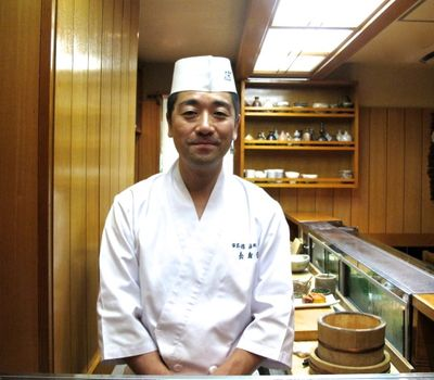 Miyakozushi Sugita-san © Tokyo Food File