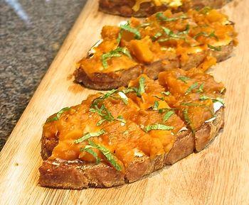 Dan Kluger kabocha toast 2 © Tokyo Food File