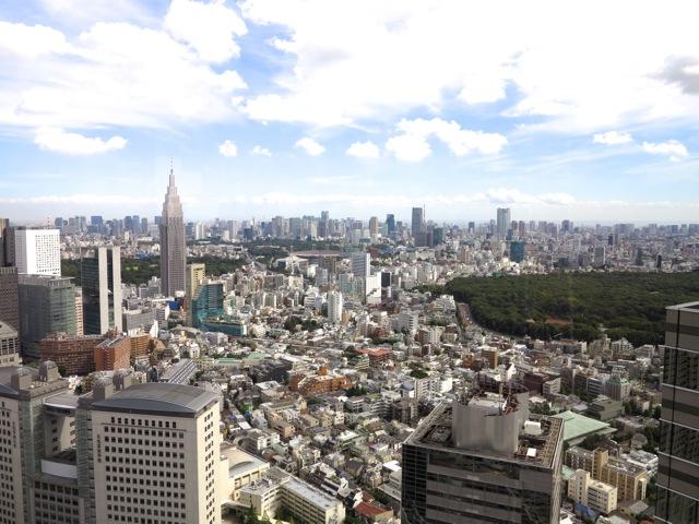 Shinjuku panorama © Tokyo Food FIle