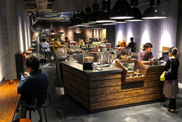 Roastery inside © Tokyo Food FIle