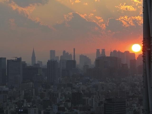 tokyo skytree sunset 1 © Tokyo Food File