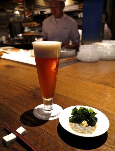 Shokkan Solamachi beer © Tokyo Food File