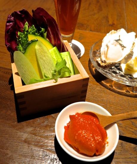 Shokkan Solamachi tomato-miso © Tokyo Food File