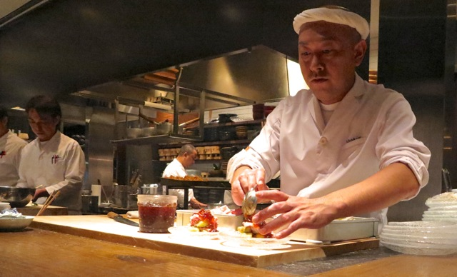 Shokkan Solamachi itamae © Tokyo Food File
