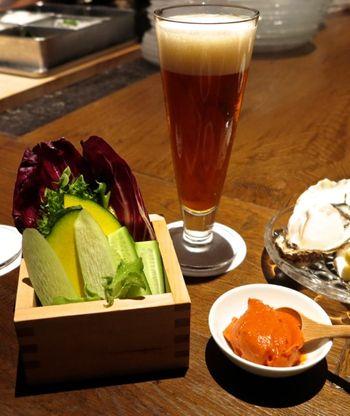 Shokkan Solamachi crudites © Tokyo Food File