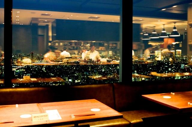 Shokkan Solamachi reflections 2 © Tokyo Food File