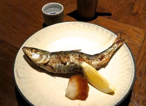Shokkan iwashi shioyaki © Tokyo Food File