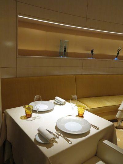 L'Osier seats ©Tokyo Food File