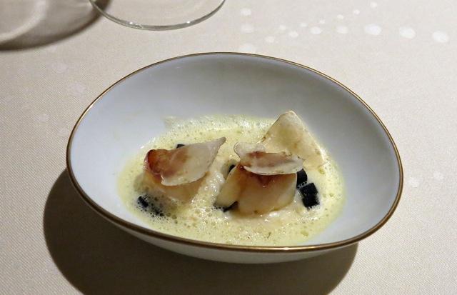 L'Osier scallop © Tokyo Food File