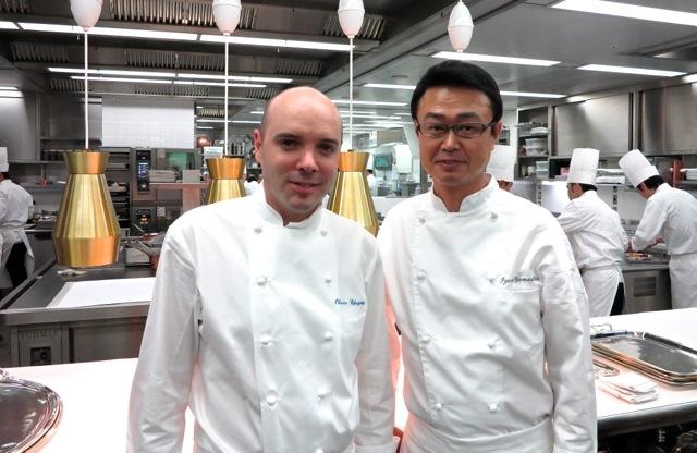L'Osier chefs © Tokyo Food File