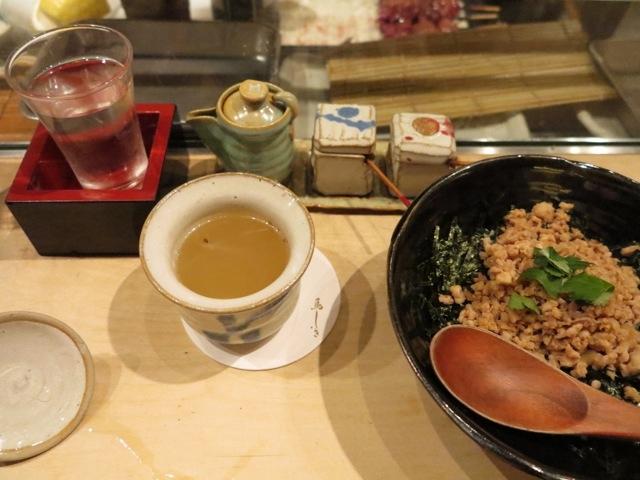 Torishiki soboro-don © Tokyo Food File