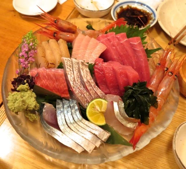 arisen sashimi moriawase © Tokyo Food File