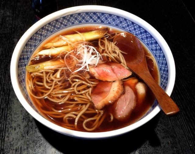 Matsubara-an kamonan soba © Tokyo Food File