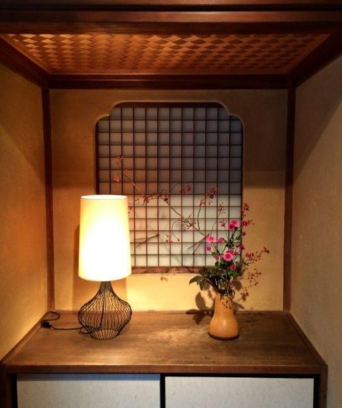 Matsubara-an alcove © Tokyo Food File