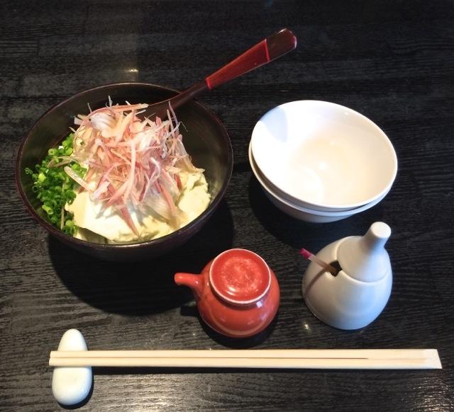 Matsubara-an tofu © Tokyo Food File