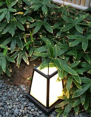 Matsubara-an sasa lamp © Tokyo Food File