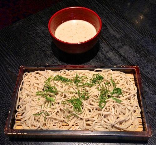 Matsubara-an gomasoba © Tokyo Food File