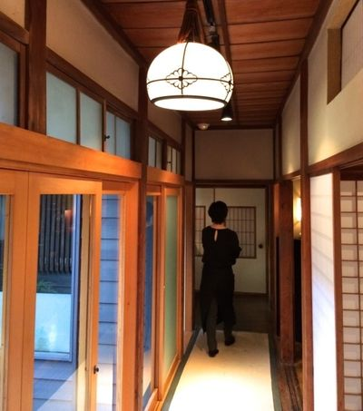Matsubara-an corridor © Tokyo Food File