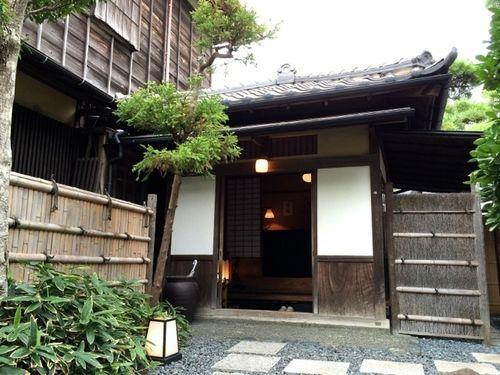 Matsubara-an entrance © Tokyo Food File