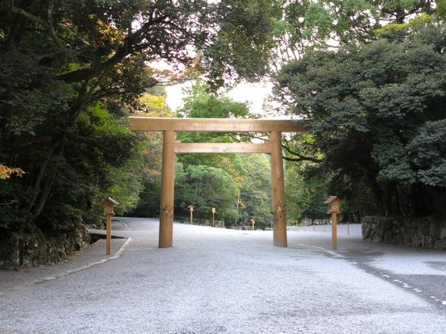 Isejingu torii3
