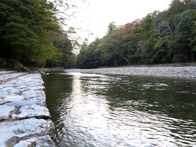 Isejingu river