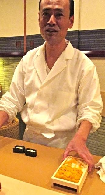 chef takashi ono @ Jiro 六本木 © Tokyo Food File