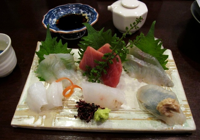 higawa sashimi © Tokyo Food File