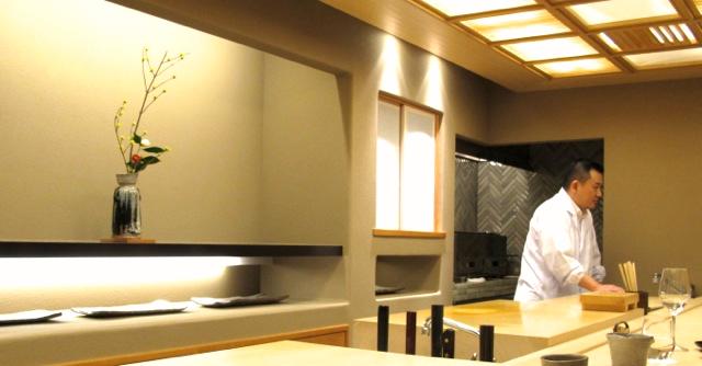 kojyu counter © Tokyo Food File