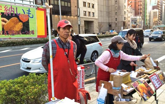 anjou imo stall © Tokyo Food File