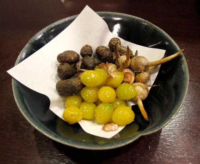 ginnan kuwai mukago © Tokyo Food File