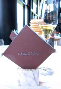 Maaemo menu © Tokyo Food File