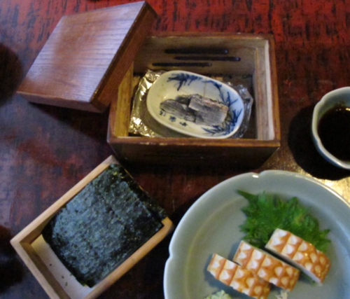 Owariya nori sumi © Tokyo Food File